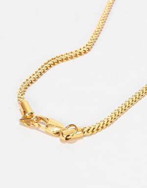 Midvs Co 18K Gold Plated Deck Necklace - Gold