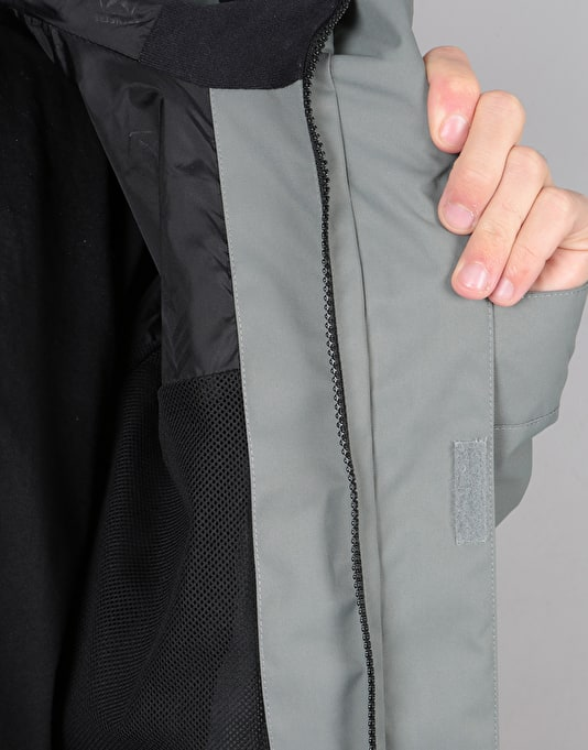 Sessions Ransack 2018 Snowboard Jacket - Charcoal