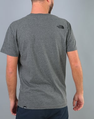 The North Face S/S Fine T-Shirt - TNF Medium Grey Heather