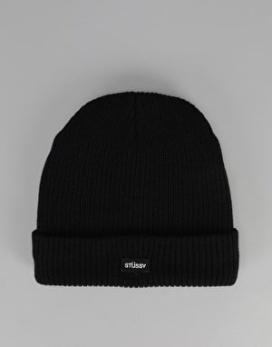 Stüssy Watch Cuff Beanie - Black