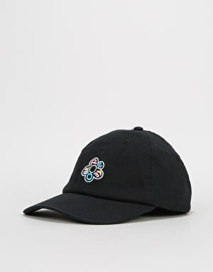 Route One In Bloom Cap - Black