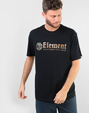 Element Horizontal Fill S/S T-Shirt - Black