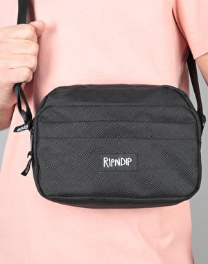 RIPNDIP Man Purse Cross Body Bag - Black