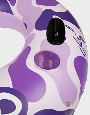 RIPNDIP Camo Tube Float - Purple