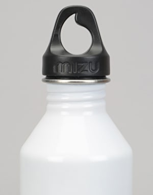 MIZU x Route One M8 800ml/27oz Doggy Style Water Bottle - Glossy White
