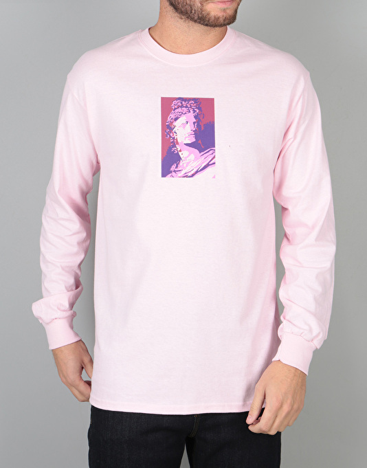 Route One Apollo Long Sleeve T-Shirt - Light Pink