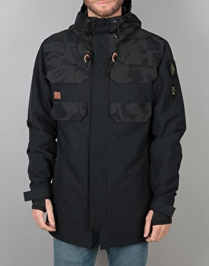 DC Haven 2018 Snowboard Jacket - British Reflective Camo