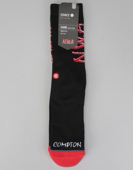 Stance N.W.A Classic Pique Socks - Black