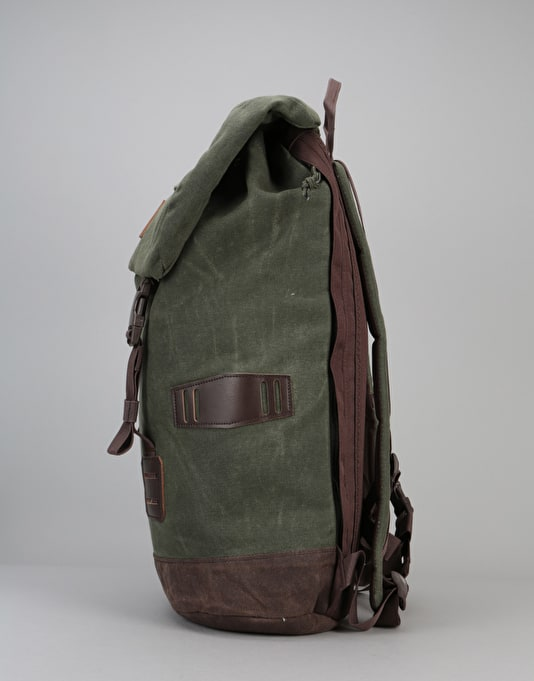 Burton Tinder Pack - Forest Night Waxed Canvas
