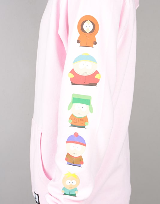 HUF x South Park Kids Pullover Hoodie - Pink