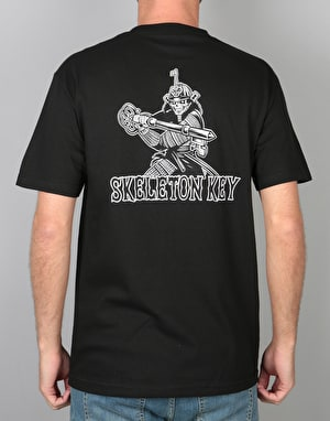 Skeleton Key Samurai T-Shirt - Black