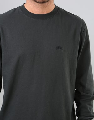 Stüssy Stock L/S Jersey T-Shirt - Black