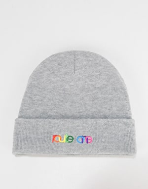 Route One Spectrum Beanie - Heather Grey