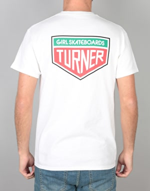 Girl Turner Tae T-Shirt - White