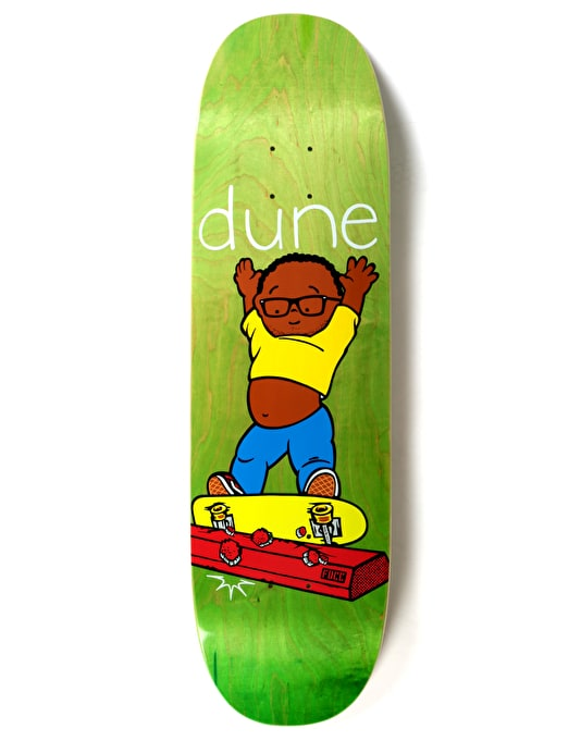 Prime Heritage Dune Curb Crusher 2 Slappy Shape Skate Deck - 8.75""
