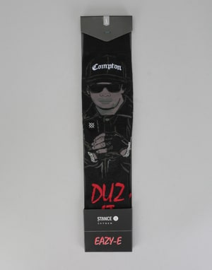 Stance Eazy Duz It Classic Pique Socks - Black