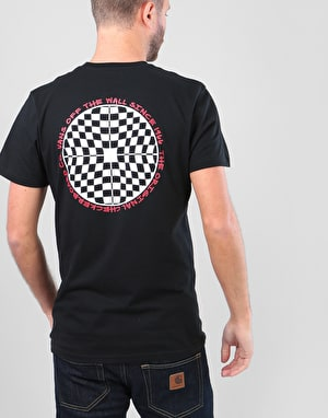 Vans Checkered T-Shirt - Black