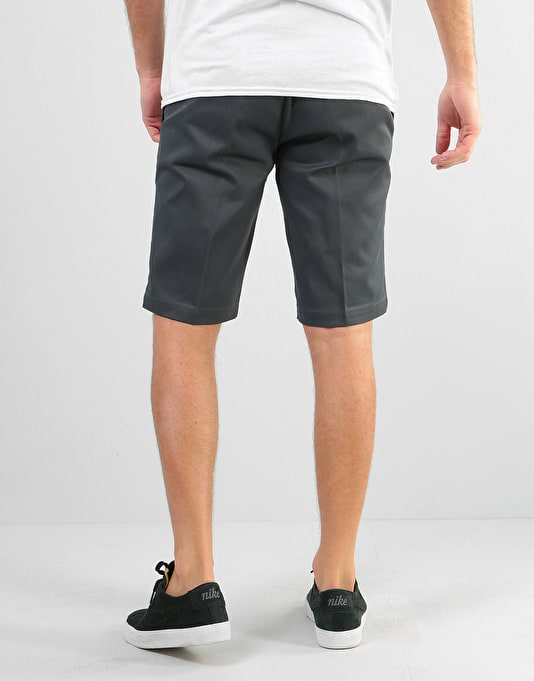 "Dickies 11"" Slim Straight Work Shorts - Charcoal"