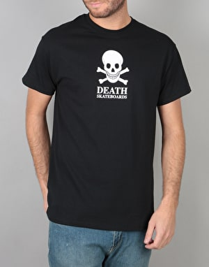 Death OG Skull T-Shirt - Black