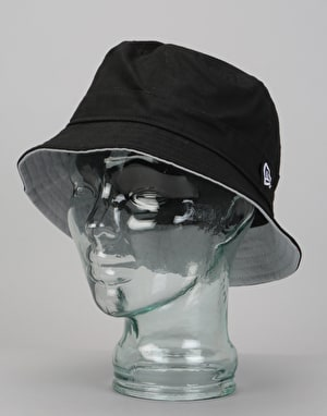 New Era Basic Bucket Hat - Black/Grey