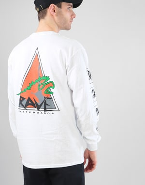 Rave Vertical Limit L/S T-Shirt - White