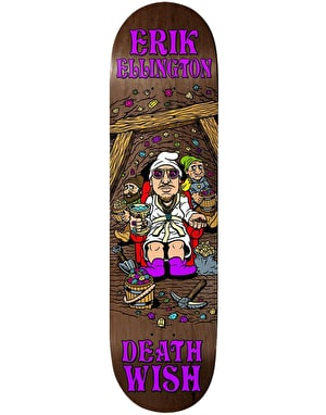 Deathwish Ellington Happy Place Skateboard Deck - 8.125