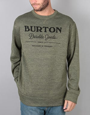 Burton Oak Crew - Dusty Olive Heather