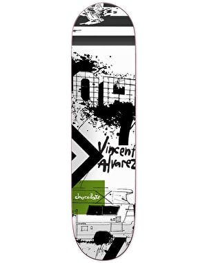 Chocolate x Evan Hecox Alvarez Out West Pro Deck - 8