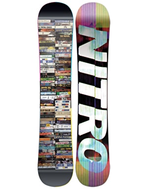 Nitro The Good Times 2018 Snowboard - 157cm WIDE