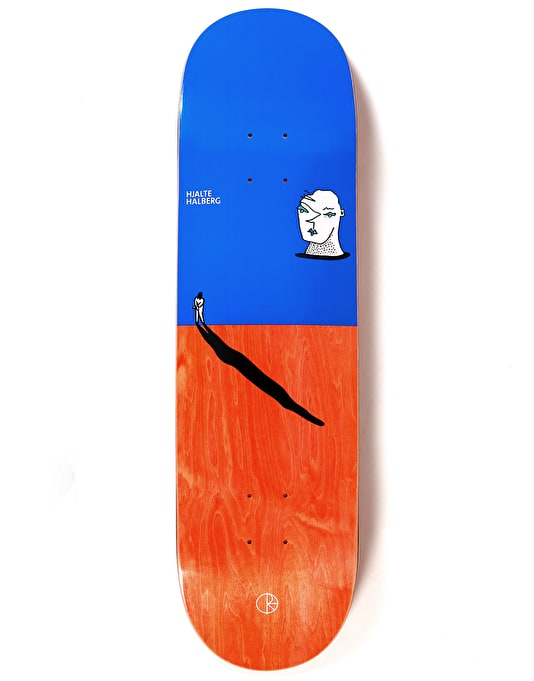 Polar Halberg Big Head Skateboard Deck - 8.5""