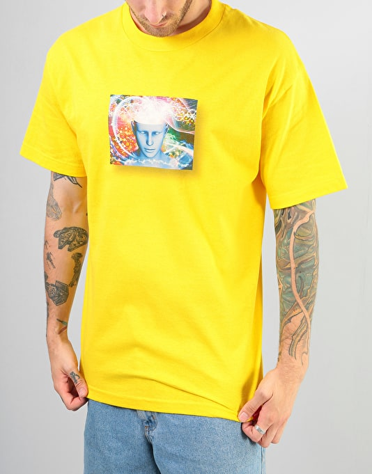 Chocolate Know Yourself T-Shirt - Yellow