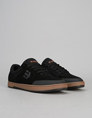 Etnies x Michelin Marana Skate Shoes - Black/Red/Gum