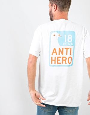 Anti Hero Scenic Drive T-Shirt - White