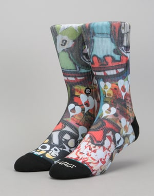 Stance Frost Heart Classic Crew Socks - Multi