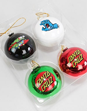 Santa Cruz Xmas Baubles Set