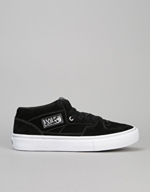 Vans Half Cab 25th Anniversary Pro Skate Shoes - (25th) Black/Silver