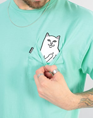 RIPNDIP Lord Nermal Overdyed T-Shirt - Mint