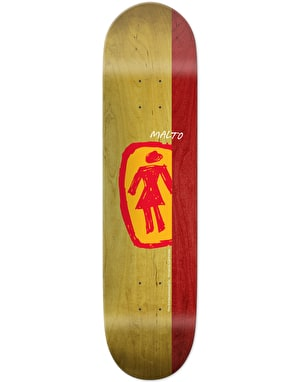 Girl Malto Sketchy OG Skateboard Deck - 8.125