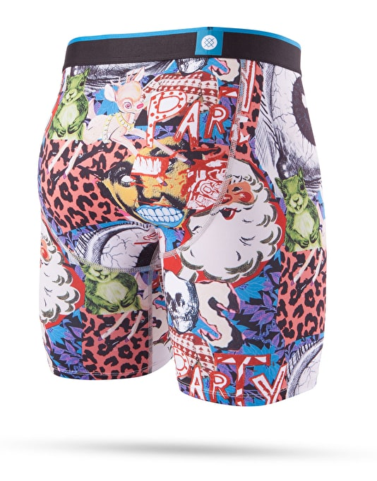 Stance Cycle Zombies Xmas Boxer Shorts - Multi