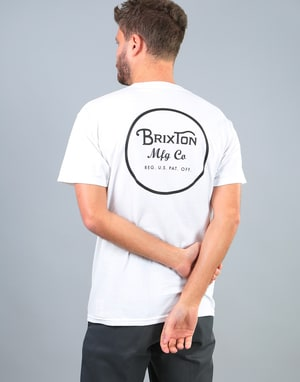 Brixton Wheeler II T-Shirt - White