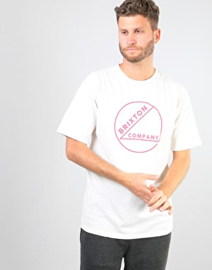 Brixton Speck T-Shirt - Off White