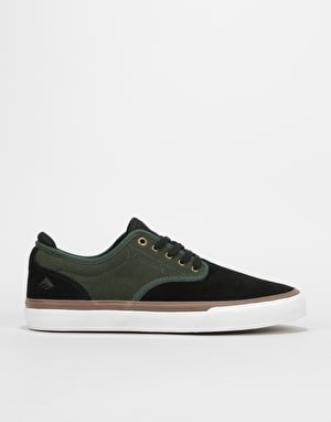 Emerica Wino G6 Skate Shoes - Black/Green