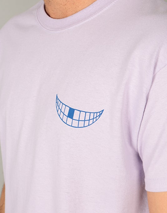 The National Skateboard Co. Grin T-Shirt - Orchid
