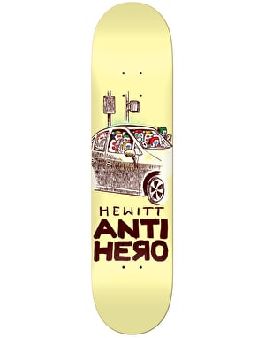 Anti Hero Hewitt Overcrowding Pro Deck - 8.28