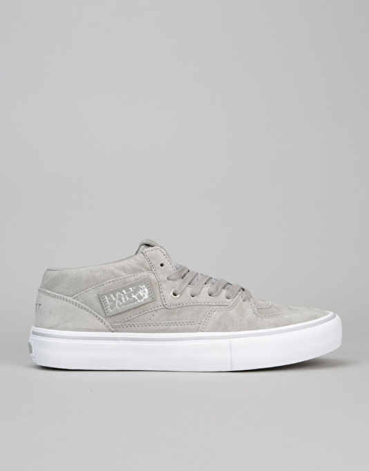 e46506425f6b18 Vans Half Cab 25th Anniversary Pro Skate Shoes - (25th) Silver ...