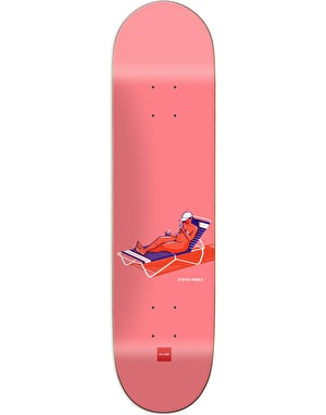 Chocolate Perez Sunbathers Skateboard Deck - 8.375