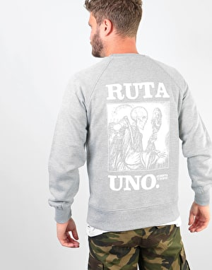 Original Ruta Uno Sweatshirt - Heather Grey