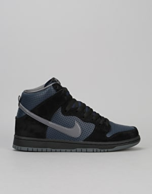 Nike SB Dunk High 'Gino' QS Skate Shoes - Black/Lt Graphite-Obsidian