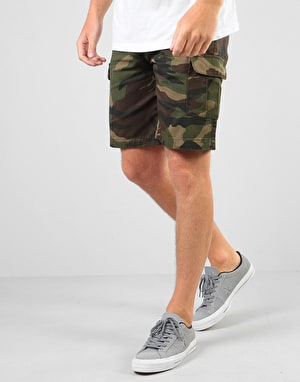 Route One Slim Cargo Shorts - Camo