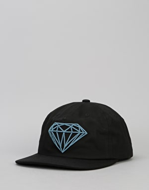 Diamond Supply Co. Brilliant Unconstructed Snapback Cap - Black